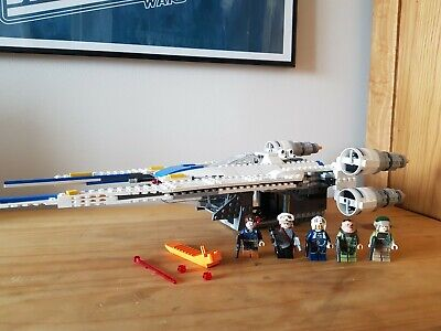 LEGO Star Wars Rebel U-Wing Fighter (75155), 100% Complete, No Box