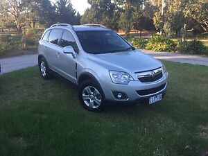 2012 Holden Captiva Series II TURBO DIESEL Box Hill South Whitehorse Area Preview
