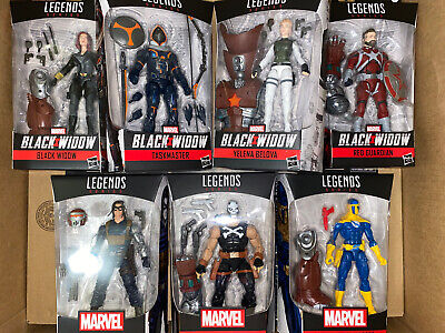 Marvel Legends BLACK WIDOW Wave Set of 7 Figures Crimson Dynamo BAF IN STOCK