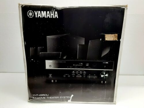 Yamaha - 725W 4K Ultra HD 5.1-Channel Home Theater System with Bluetooth - Black