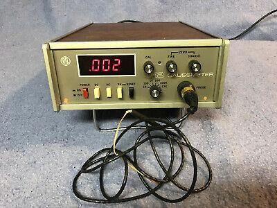 Rfl 912 Gaussmeter Magnetometer And 912-039 Probe