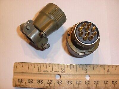 Used - Ms3106a 18-1s Sr - 10 Pin Female Plug