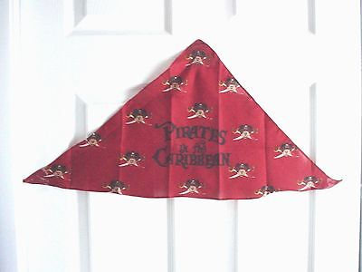 Disney Cruise Line  Set of 4 Pirate Scarfs New