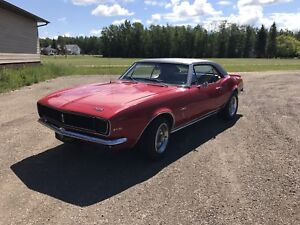 1967 RS Camaro SOLD PENDING PICK UP