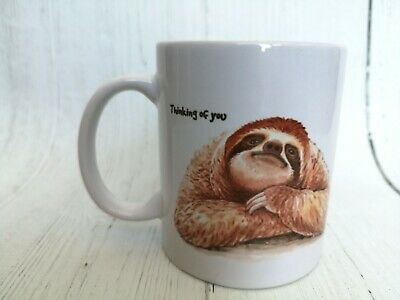 Sweet Dreams Sleepy Sloth New Bone China Mug