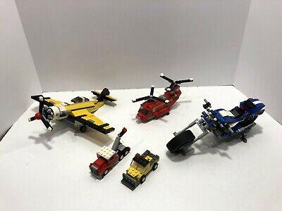 LEGO creator LOT: Race Rider 6747 + Propeller Power 6745 + truck 20008 + 31003
