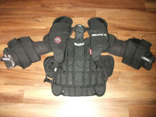 HEATON HELITE 5 HOCKEY GOALIE BODY ARMOR CHEST & ARM PROTECTOR SENIOR SIZE LARGE