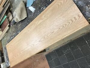 Pre finished Solid Oak Stair Tread Caps.