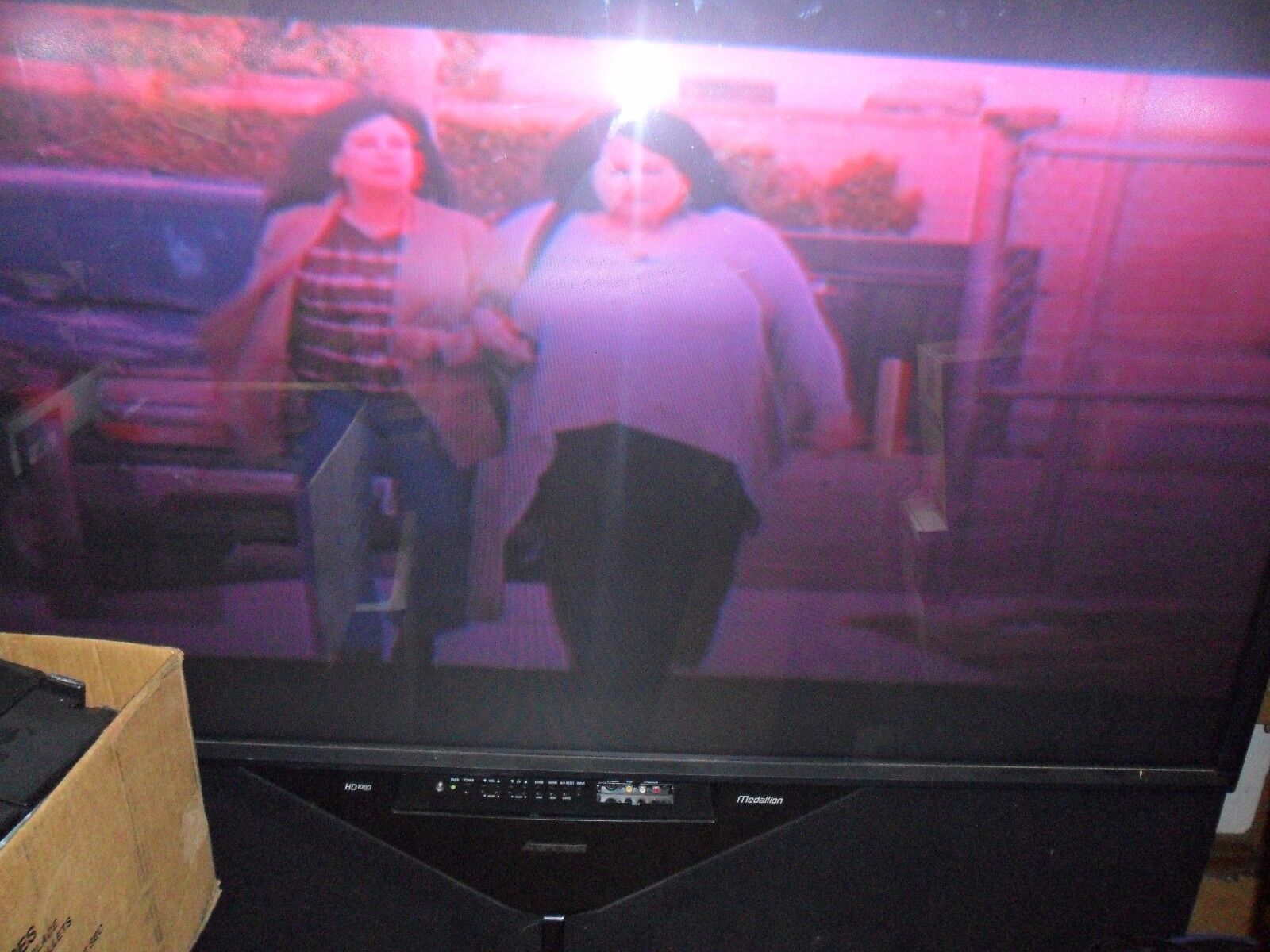 MITSUBISHI 65in.HD Color Television-stk#WS65907