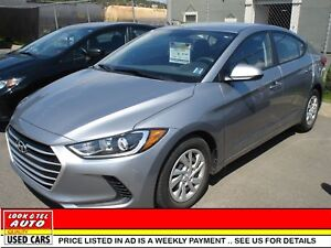 2017 Hyundai Elantra  We finance 0 money down & cash back* GL