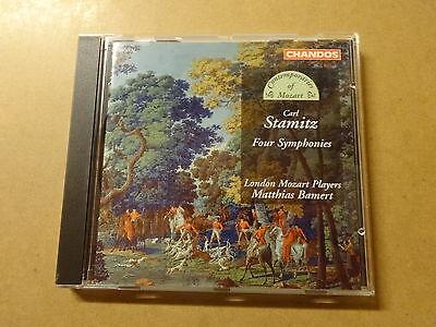 CD / STAMITZ, LONDON MOZART PLAYERS, BAMERT: 4 SYMPHONIES