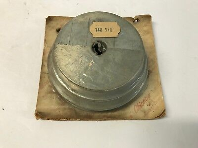 Nos Chicago 148 3 Step Pulley 58 Bore 4 12 4 3 12 Lathe Drill Press