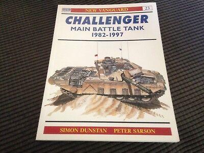 Osprey New Vanguard - Challenger Main Battle Tank 1982-97