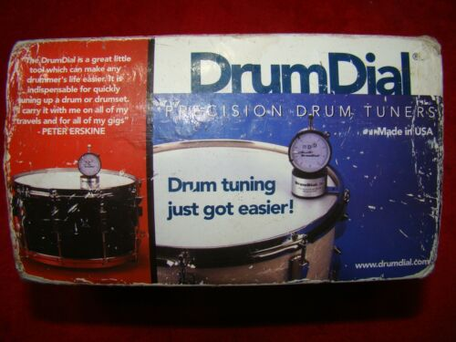 Drum Dial Drum Precision Tuner Excellent Condition in Box w Instructions