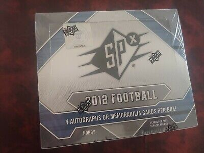 Upper Deck SPx Football 2012 Hobby Box Sealed Russell Wilson RC auto??