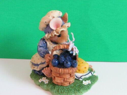"Priscilla Mouse Tales "" Blueberry Cheesecake "" - Rare-1997"