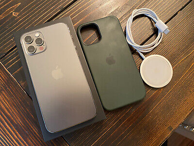 Apple iPhone 12 Pro - 256GB - Graphite (Unlocked) with AppleCare