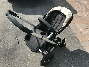 BUGABOO FROG STROLLER WITH PRAM & ALL ACC/MANUALS