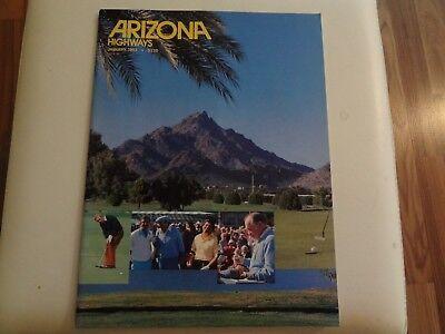 Arizona Highways, January 1983, Vol.59 NO.1, Magazin