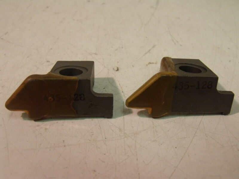 (2) New Hertel 435-128 Clamps for Indexables