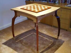 Hand Crafted Timber Games Table Circa Goolwa Alexandrina Area Preview