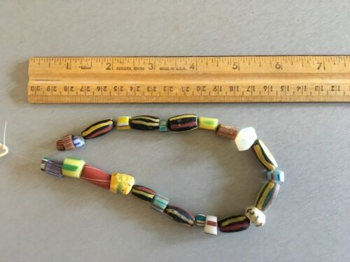 Antique Native American Trade Beads Indian Trade Beads 26 Beads Total