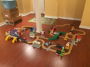Massive Geotrax train set by Fisher price