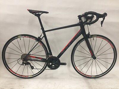 Cube Attain SL Road Bike 2016 - 56cm (700c) - Black/Flashred