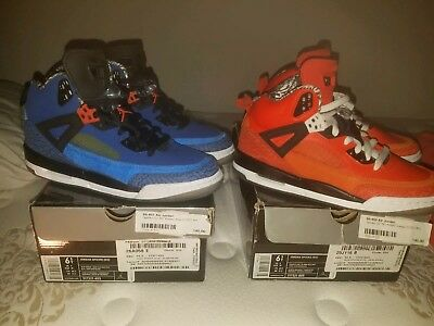 promo code e6b2f d882f Nike Air Jordan Spizike Knicks (2) pair Blue And Orange