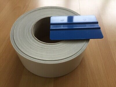 Lackschutzfolie 1 Rolle Transparent Selbstklebend B 6 cm, L 50 Meter.Neu.Schutzf