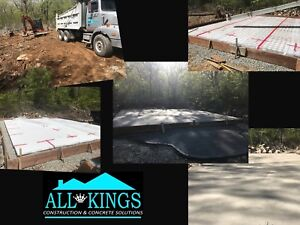 Affordable Concrete solution's by All Kings