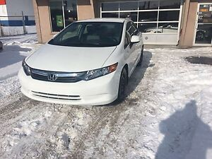 2012 Honda Civic LX Sedan AUTO CERTIFIED NO ACCIDENT WINTER TIRE