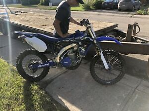 2010 Yamaha yz 450  full fmf exhaust