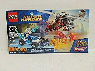 LEGO DC Comic Super Heroes Speed Force Freeze Pursuit (76098)