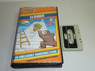 Computer Games - commodore 64 climber game c64 cassette computer classics 1983