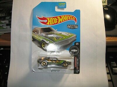 HOT WHEELS ZAMAC 2017 FIFTY CAMARO 5/5 '67 CAMARO  bad card