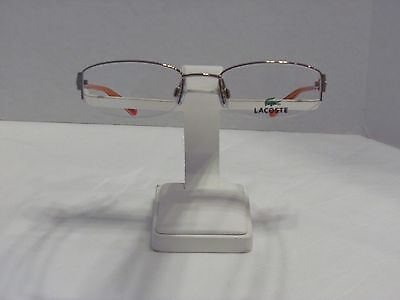 New LACOSTE Women's Eyeglasses Optical Frame with Case & Cleaning Cloth
