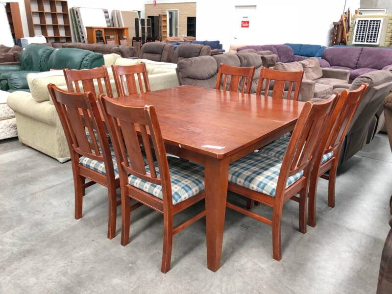 DELIVERY TODAY 9 Pcs STRONG SOLID WOODEN Dining Table And Chairs | Dining  Tables | Gumtree Australia Belmont Area   Belmont | 1187550779