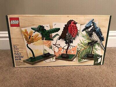 Lego Ideas Birds (21301) - New In Sealed Box - Retired!