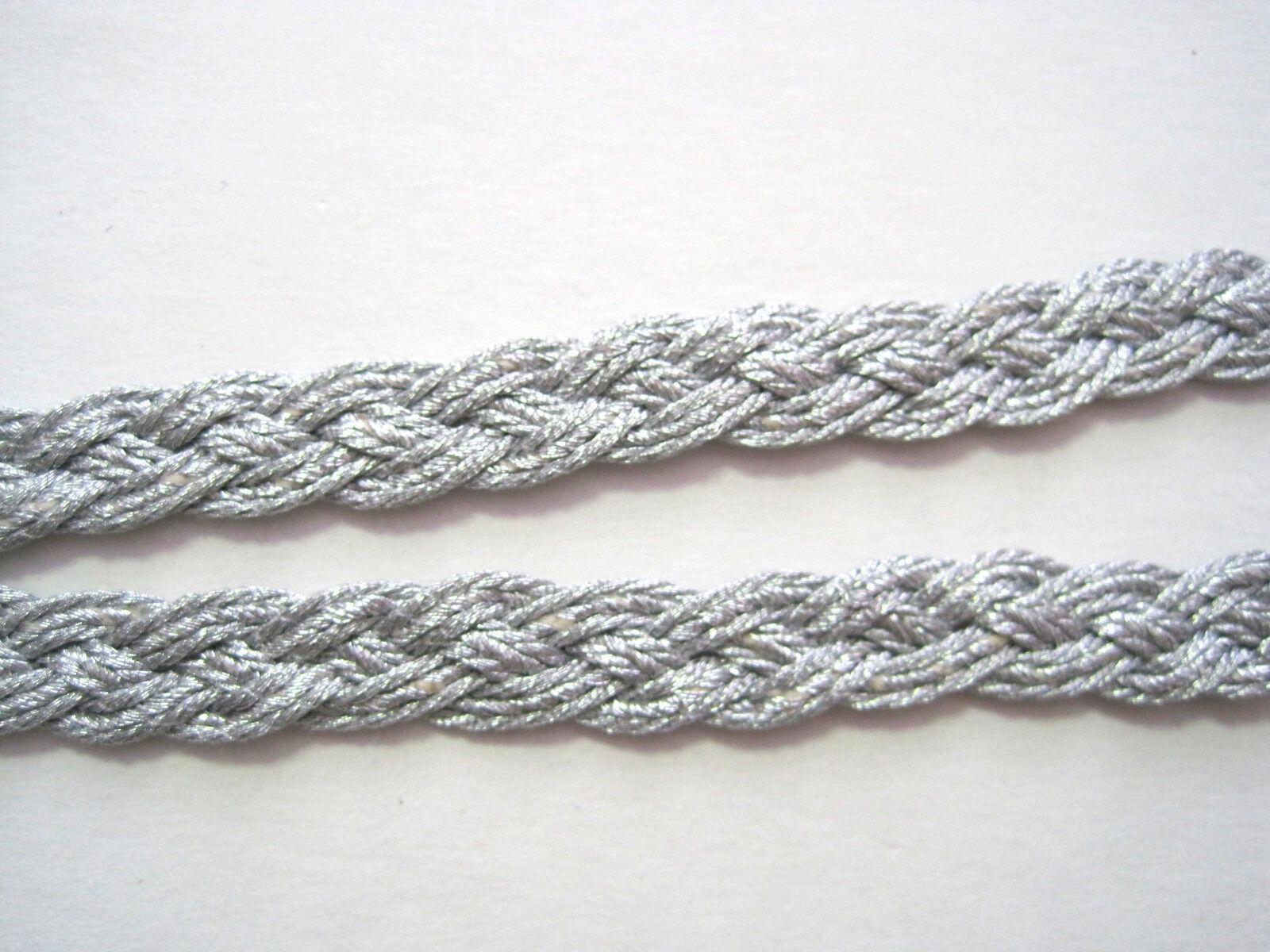 Borte Silber Geflochten Uniform BO-SB-1054