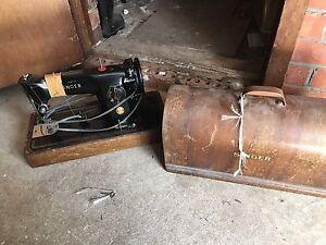 Old singer sewing machine  $60 Chirnside Park Yarra Ranges Preview