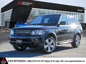 2012 RANGE ROVER SPORT-ACCIDENT FREE-LOW KM'S