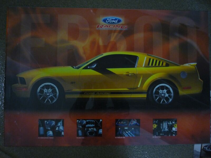 Ford Mustang - wall posters- 6 diff. Cobra Jet, Racing, 2005,1969  - BEST DEAL!