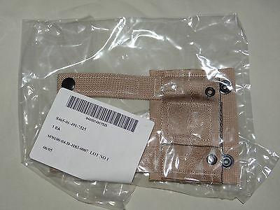 1 Each, K-bar Adapter, Kbar, Military Issue, Molle II, Desert Tan, New