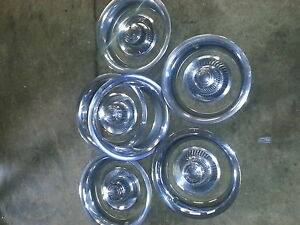 chev trim rings and centre caps