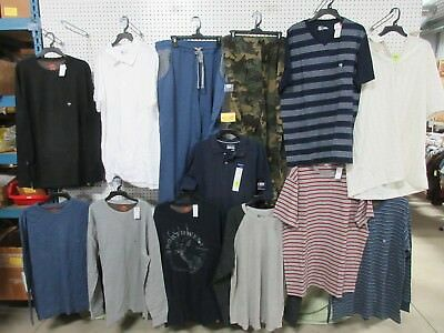 13 MEN'S XLT ADULT COLLAR T-SHIRT CLOTHING LOTS BIG TALL THERMALS PAJAMAS NEW