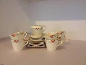 Art Deco Morley Fox & Co Tea Set Caulfield North Glen Eira Area Preview