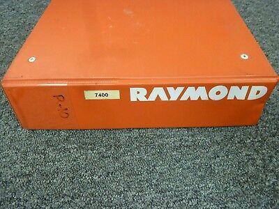 Raymond 7400 7420 7440 Reach-fork Forklift Lift Truck W Acr Parts Catalog Manual