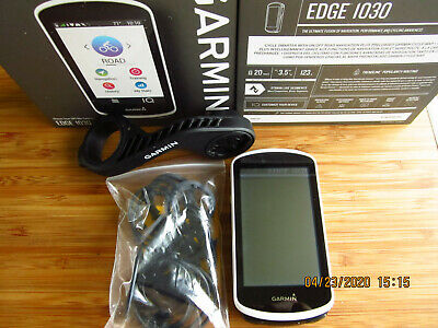 Garmin EDGE 1030 Bundle Ultimate Smart GPS Cycling Bike Computer Used under 10x