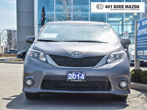 2014 Toyota Sienna SE 8 Passenger|NO ACCIDENTS|ONE OWNER